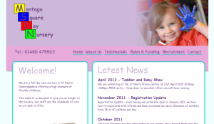 Old style website