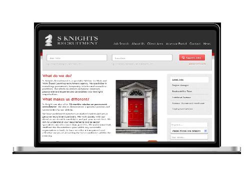 rec macbook - Recruitment Websites Design
