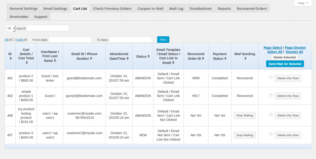 4 cart list 1024x516 - Platinum Ecommerce Package
