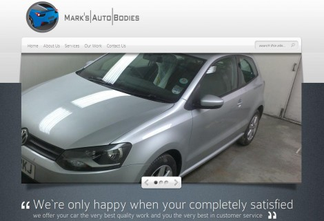 MarksAuto 470x320 - Small Business Portfolio