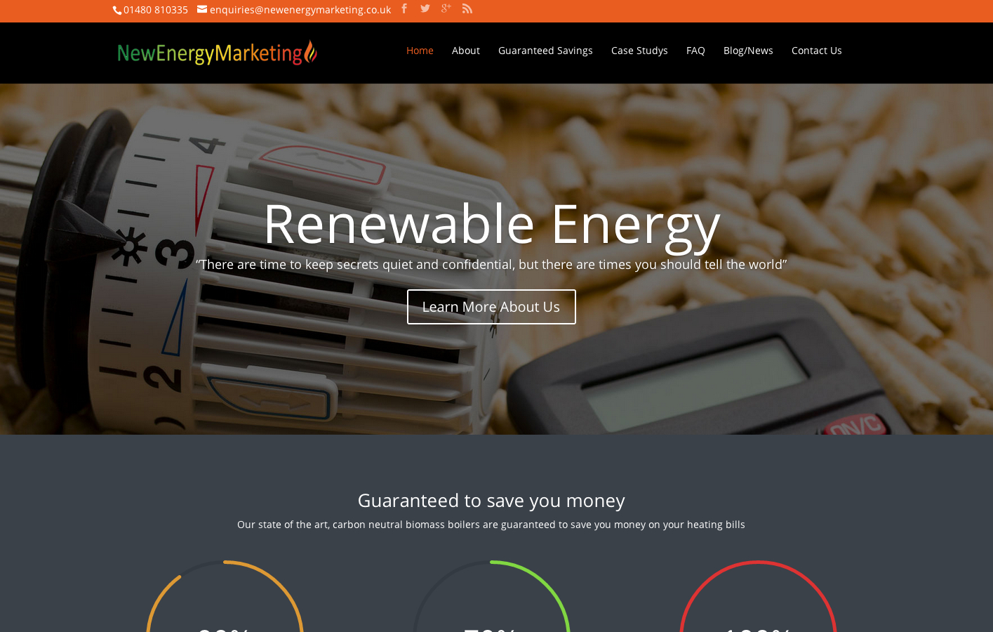 newenergy1 - Website Redesign & Revamps