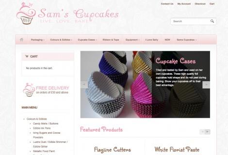 Sams Cupcakes London
