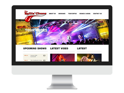 band2 - Musician & Band Website Design