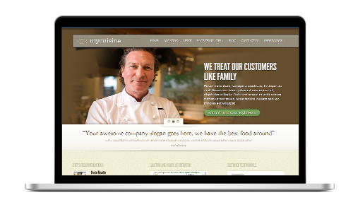 rest3 - Restaurant & Cafe Website Design