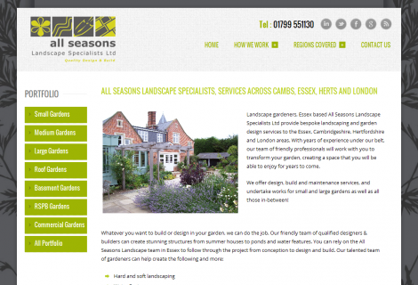All Seasons Landscape Ltd