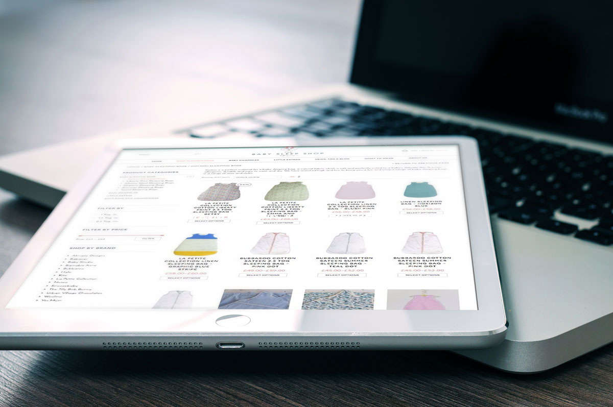 iPad Ecommerce websites