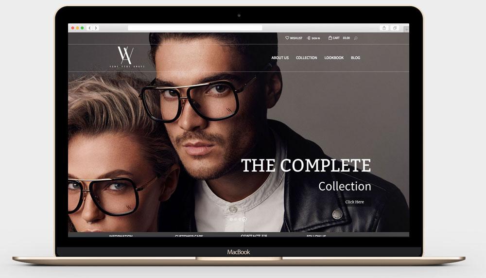 vva2 - Professional Ecommerce Website